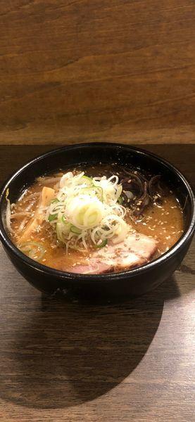 「焙煎ごま味噌ラーメン ミニサイズ」@吉山商店 札幌ら〜めん共和国店の写真