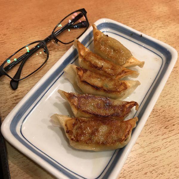 「薄皮ぎょうざ(5個)」@長崎ちゃんぽん リンガーハット 京急川崎駅前店の写真