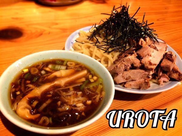 「つけソバ¥800」@自家製麺 うろたの写真