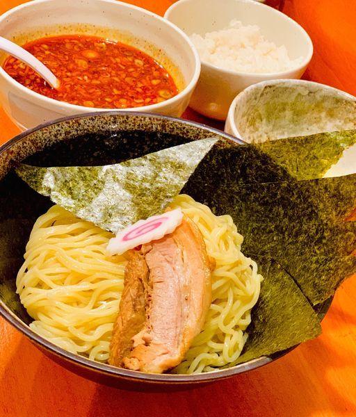 「辛つけ麺」@中華そば はな田の写真