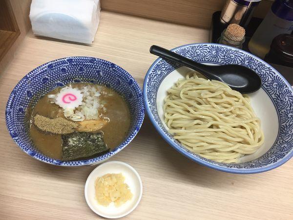 「つけ麺中(煮干)¥840+ニンニク¥10」@狼煙 大宮店の写真