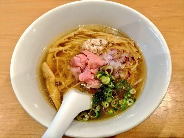 「らぁ麺」@らぁ麺 鳳仙花の写真