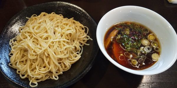 「醤油つけ麺(大盛)」@らぁ麺 すぎ本の写真
