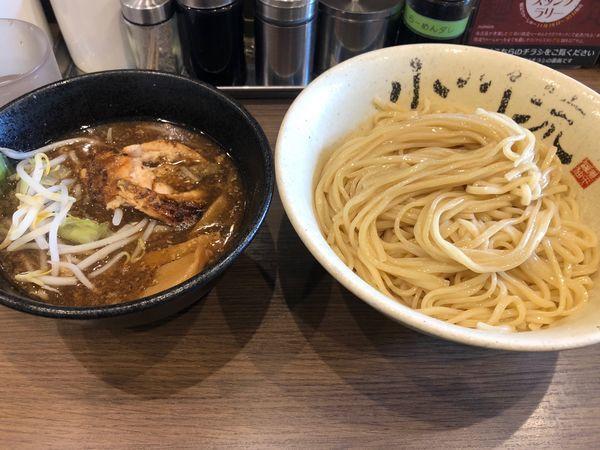「煮干醤油つけめん大 750円」@つけ麺 小川流 多摩貝取店の写真