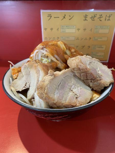 「フュージョン」@蒙麺 火の豚の写真