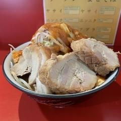 蒙麺 火の豚の写真