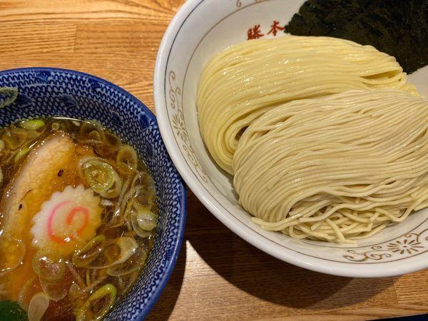 「清湯つけそば 大盛 930円」@神田 勝本の写真