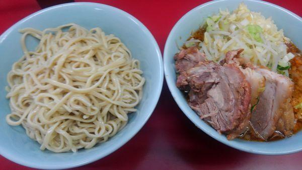 「小豚、つけ麺980円」@ラーメン二郎 中山駅前店の写真