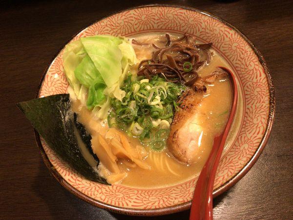 「濃熟鶏白湯 しょう油」@征麺家 かぐら屋の写真