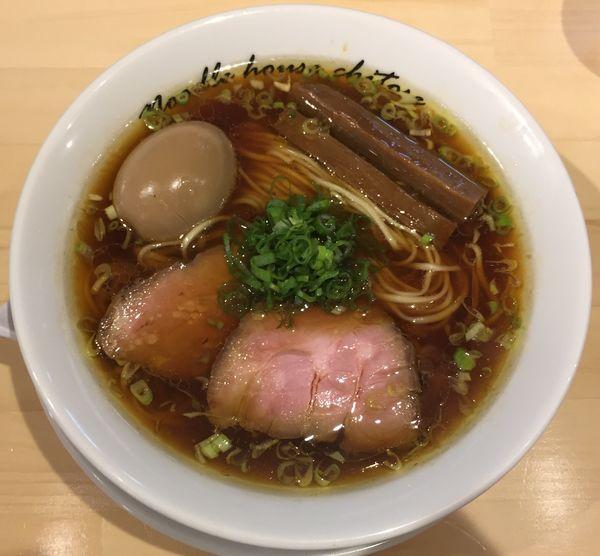 「醤油850円他」@麺庵ちとせの写真