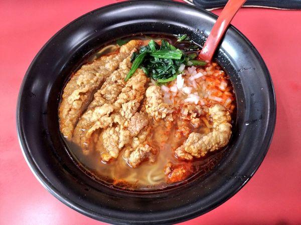 「期間限定 バリ辛塩パーコー麺」@和風らーめん はるやの写真