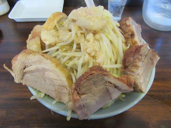 「肉の日限定 肉マシラーメン(800円)」@中華そば 伸 Chinese-style noodle NOBUの写真