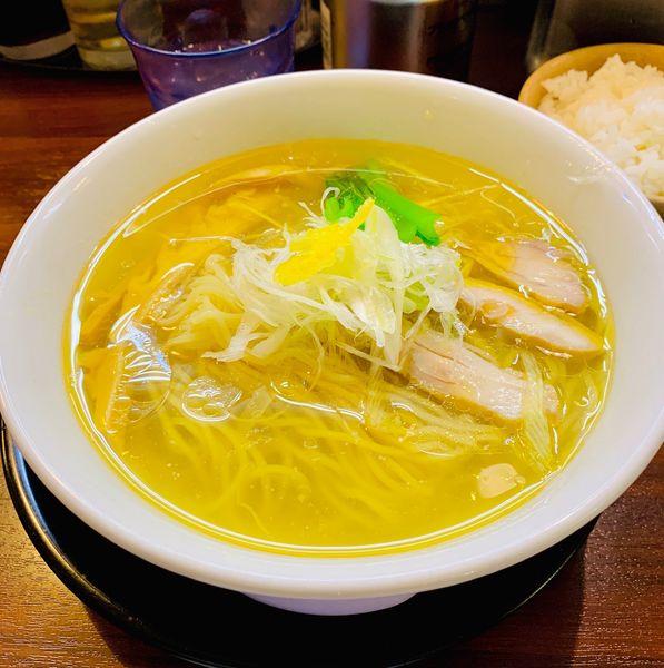 「しおそば」@麺の風 祥気の写真