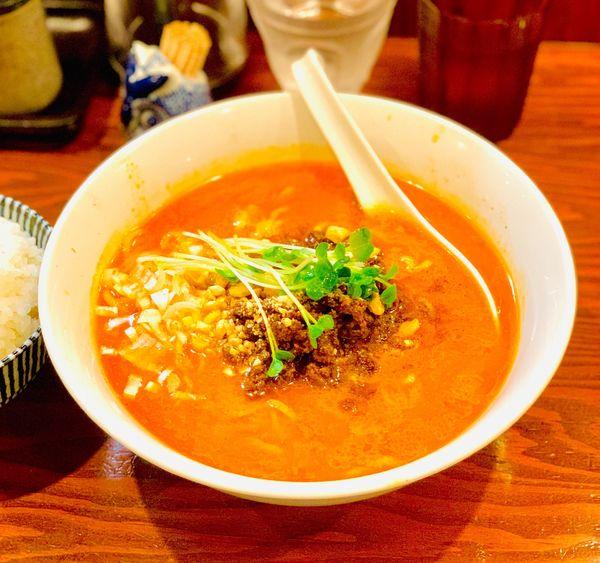 「担々麺」@北海道らーめん 麺屋とみ吉の写真