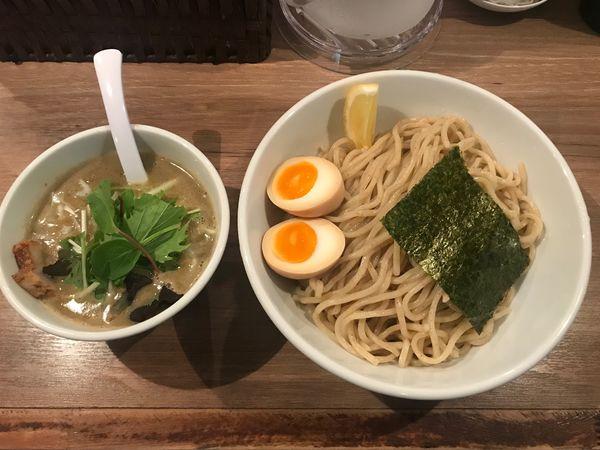 「味玉つけ麺(塩)」@38 NOODLE KITCHENの写真
