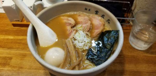 「味玉らーめん940円+国産チャーシュー480円」@麺屋吉左右の写真