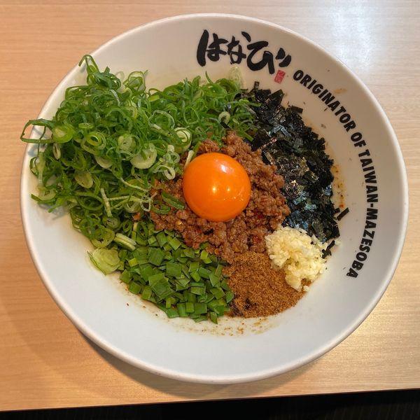 「ねぎ盛り台湾まぜそば 1,000円」@麺屋 はなび 弥富店の写真