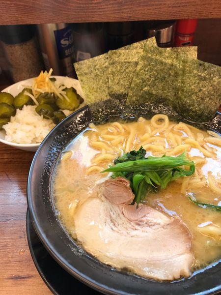 「ラーメン醤油❻」@横浜家系ラーメン 駒込家の写真