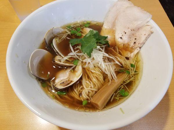 「蛤生醤油ラーメン」@醤油と貝と麺そして人と夢の写真