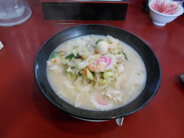 「贅沢チャンポン」@熱熱中華食堂 出雲店の写真