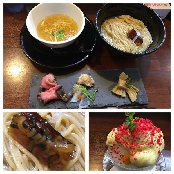 「河豚×金目鯛の閃き〜隙を生じぬ二段構え〜」@麺の風 祥気の写真