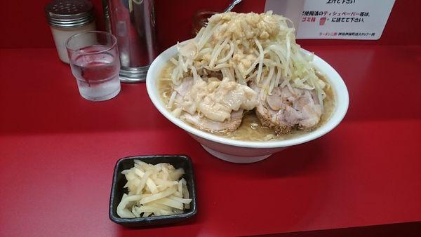 「大・(塩蔵)千切生姜(アブラカラメ)¥950」@ラーメン二郎 神田神保町店の写真