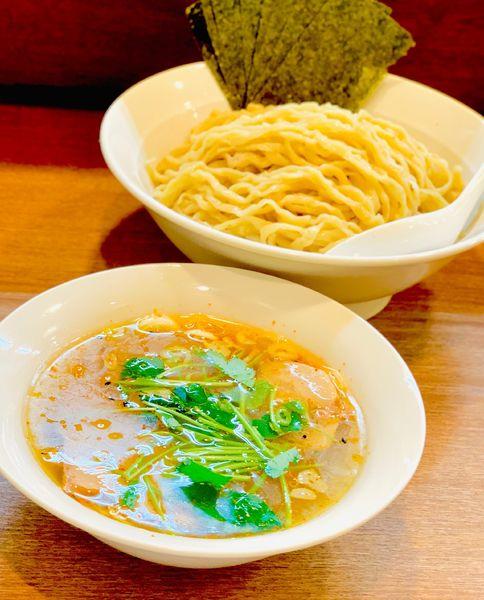 「塩つけ麺」@らぁめん山と樹の写真