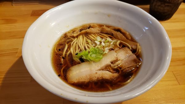 「端麗醤油 山賊麺750円」@上州山賊麺 大大坊の写真