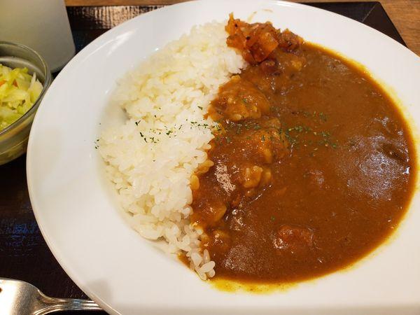 「カレーライス+コールスロー」@洋食や 三代目 たいめいけん ラゾーナ川崎プラザ店の写真
