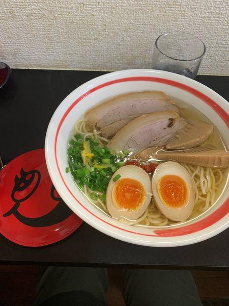 「特製塩」@自家製麺SHINの写真