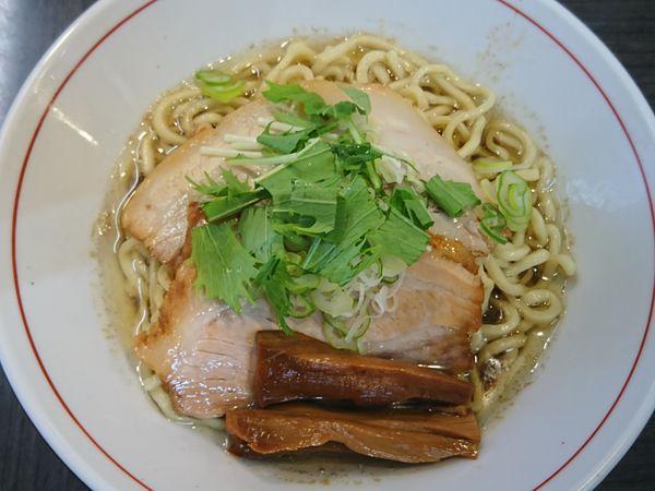 「【限定】魚介油そば ¥730」@ラーメンつけ麺 奔放の写真