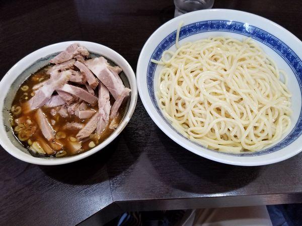 「つけ麺(中)+チャーシュー」@中華そば べんてんの写真