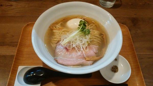 「味玉塩と貝のラーメン¥920-」@ラーメン 健やかの写真