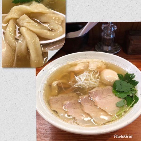 「特製塩らーめん ¥1000」@純手打ち 麺と未来の写真