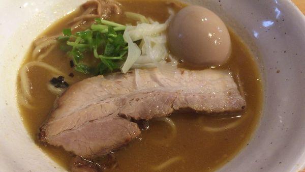 「山賊麺➕味玉」@上州山賊麺 大大坊の写真