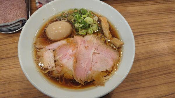 「丸鶏 830円」@中華そば ココカラサキゑの写真