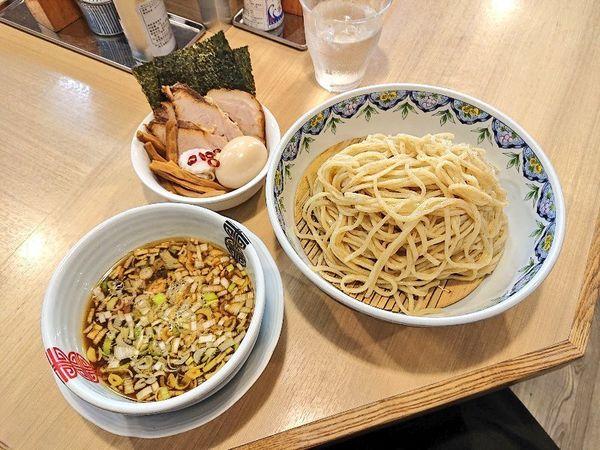 「特製豚と鴨のつけそば(A)」@多賀野の写真