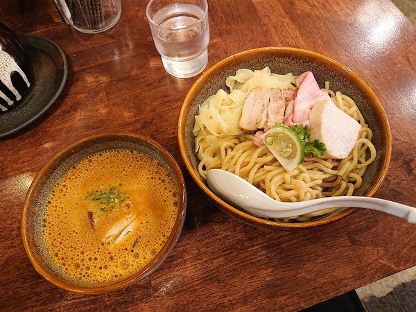 「海老丸2周年特別限定 オマール海老つけ麺」@海老丸らーめんの写真