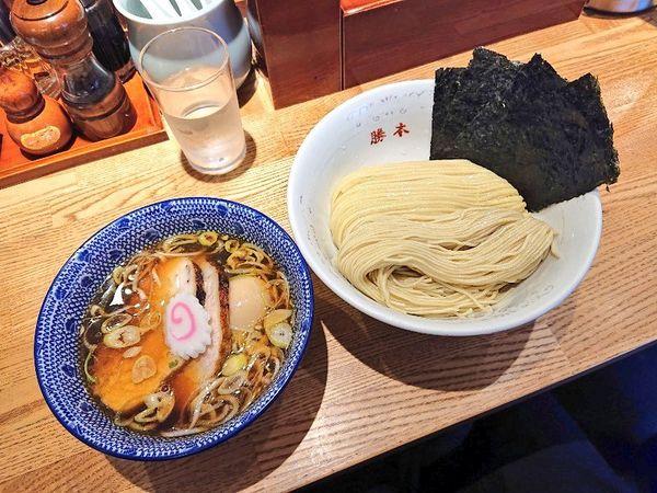 「特製清湯つけそば」@神田 勝本の写真