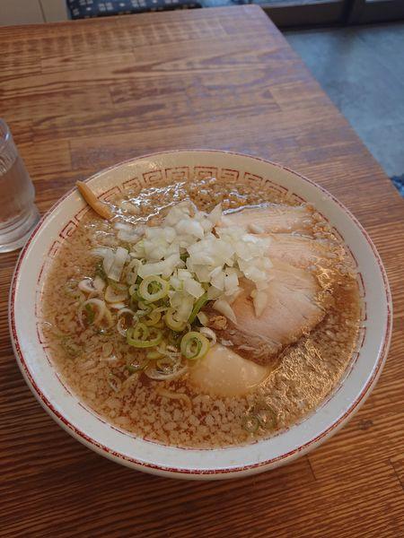 「背脂ラーメン」@喜多方食堂 麺や玄の写真