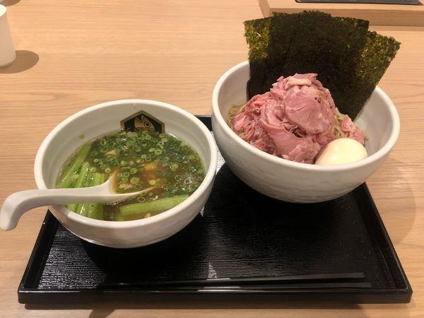 「特製真鯛つけ麺」@真鯛らーめん 麺魚 錦糸町PARCO店の写真