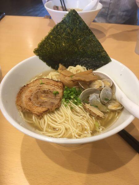 「あさりラーメン(大盛)」@麺屋 湊の写真