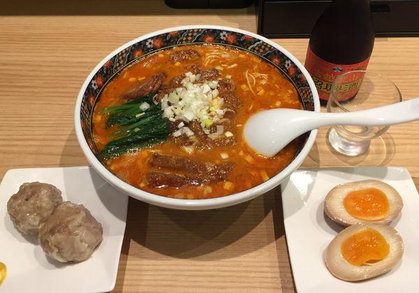 「パイコー担々麺」@寿限無担々麺 上野店の写真