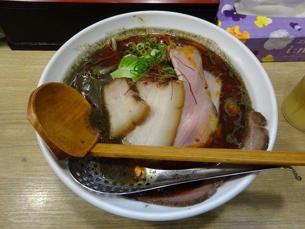「黒カレー担々麺」@麺や 蓮と凜の写真