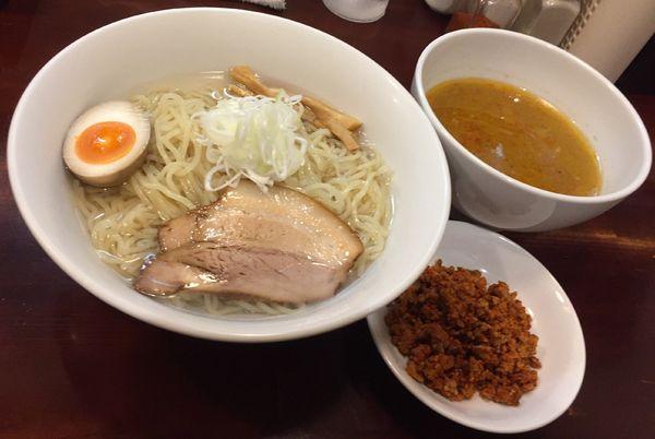 「【期間限定】昆布水つけ麺辛味噌」@らーめん風の写真