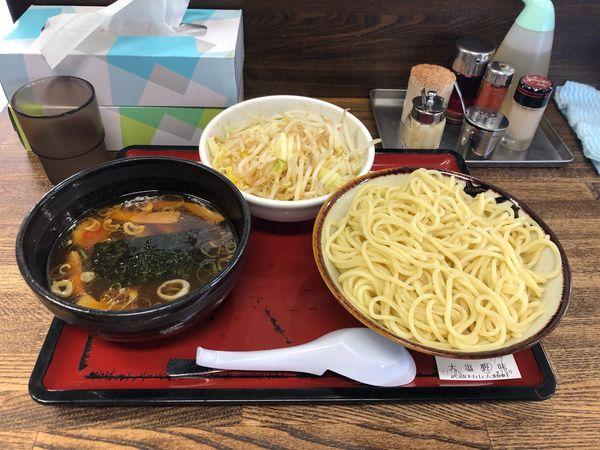 「野菜もりそば  850円 (クラシック)」@武蔵村山大勝軒の写真