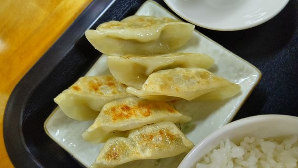 「餃子定食」@らーめん中濱屋の写真