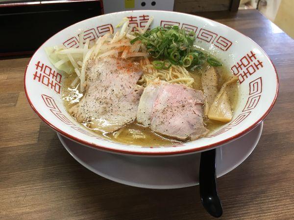 「中華そば」@らぁ麺 つけ麺 油そば てっぺんの写真