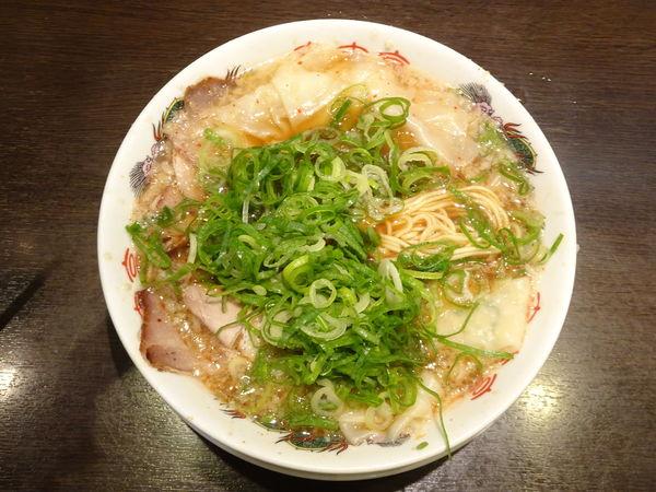 「ワンタン麺」@来来亭 河原町三条店の写真
