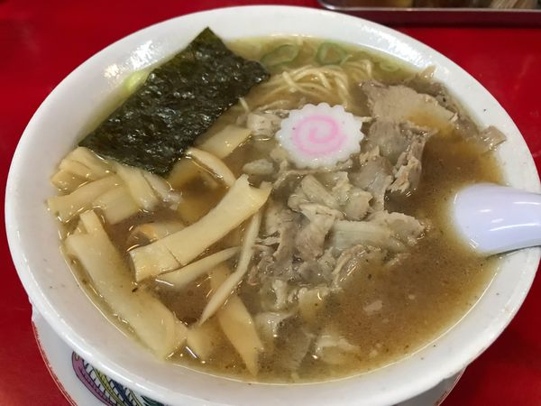 「煮干し中華  950円」@末廣ラーメン本舗 秋田駅前店の写真